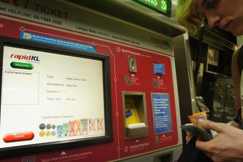 LRT to Pasar Seni for 1RM