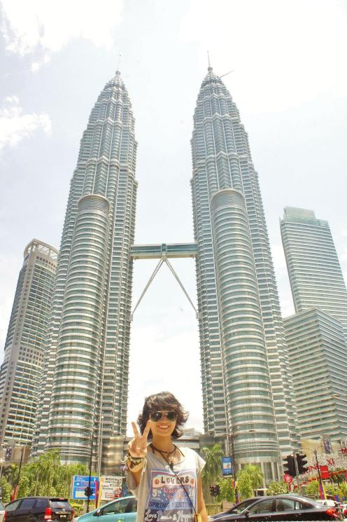 At Petronas Twin Towers!