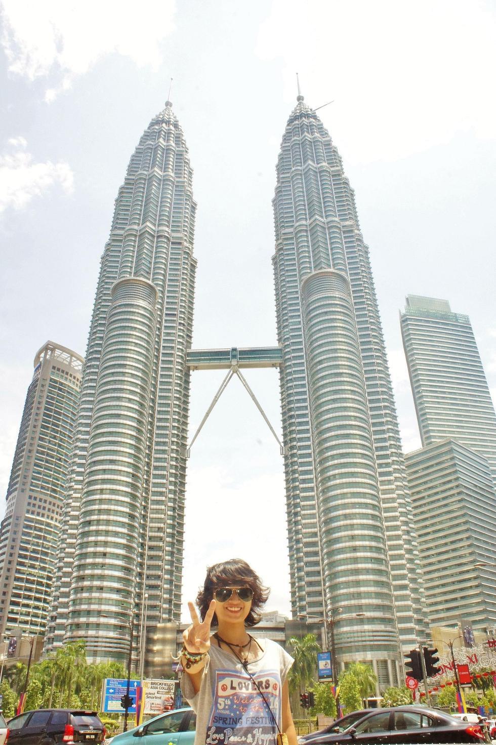 At Petronas Twin Towers!