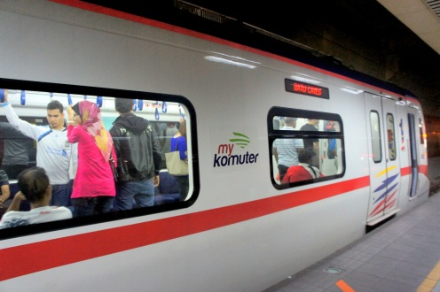 KTM Komuter to Batu Caves