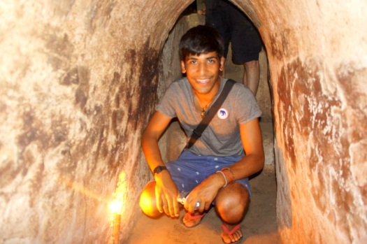 Cu Chi Underground Tunnel, the location of several military campaigns during the Vietnam War